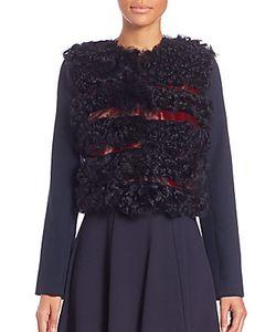 Erdem | Anita Fur-Paneled Jacket