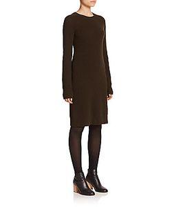 Helmut Lang | Merino Wool Cashmere Sweater Dress