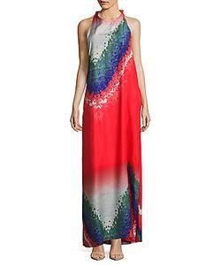 Baja East | Printed Halterneck Dress
