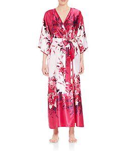 Oscar de la Renta | Printed Charmeuse Robe