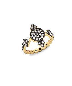 Freida Rothman | Crystal Sterling Ring