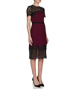 Erdem | Keni Lace-Trim Sheath Dress