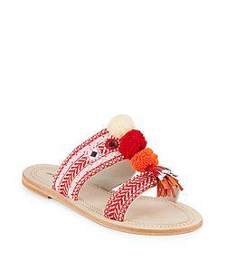 Antik Batik | Koshi Pom-Pom Slide Sandals