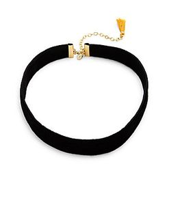 Shashi | Cora 18k Plated Choker Necklace