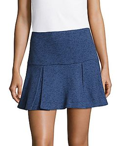 Derek Lam 10 Crosby   Flared Cotton Mini Skirt
