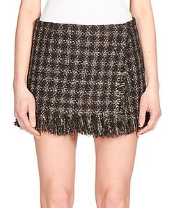 Sonia Rykiel | Lameacute Tweed Micro-Mini Skirt