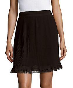 Carven | Solid Ruffled Skirt