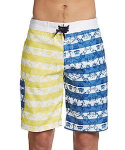 Billionaire Boys Club | Mosamo Lace-Front Shorts