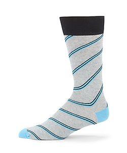 Saks Fifth Avenue | Cotton-Blend Striped Socks