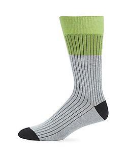 Saks Fifth Avenue | Striped Colorblock Socks