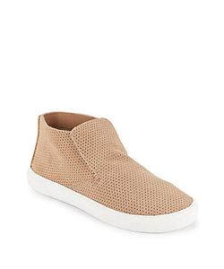 Dolce Vita | Xai Perforated Suede Sneakers