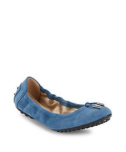 Tod's | Dee Laccetto Suede Ballet Flats
