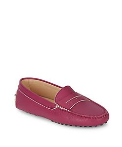 Tod's | Gommini Leather Slip-On Moccasins