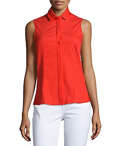 Akris | Solid Sleeveless Shirt