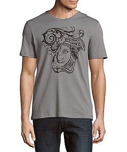 Versace Collection | Printed Cotton Short-Sleeve Tee