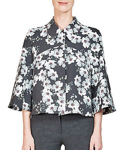 Erdem | Sukie Cropped Print Jacket