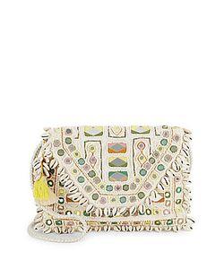 Antik Batik | Fringed Trim Cotton Shoulder Bag