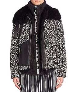 Altuzarra | Printed Fur Jacket