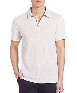 Vince | Mix-Stitch Polo T-Shirt