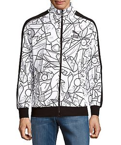 Puma | Button-Front Printed Jacket