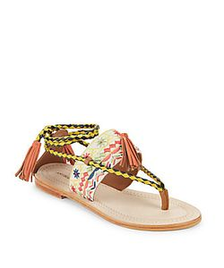Antik Batik | Tarata Tasseled Sandals