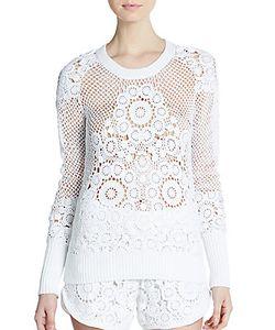 Tess Giberson   Cotton Crochet Sweater