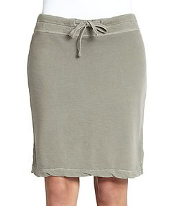 James Perse | Drawstring Vintage Cotton Skirt
