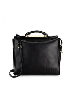 3.1 Phillip Lim | Top-Zip Leather Shoulder Bag