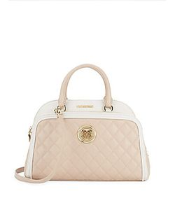 Love Moschino | Quilted Satchel