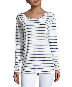 Iro | Striped Linen Tee