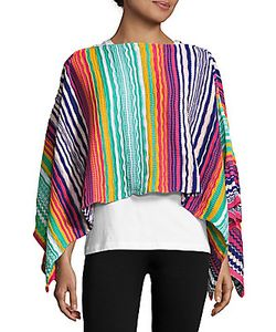 Missoni | Multicolored Crochet Cape