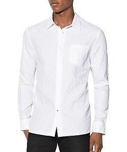 John Varvatos | Pinstriped Cotton Shirt