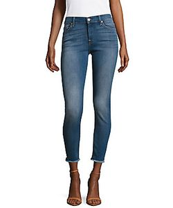 7 For All Mankind | Ankle Gwenevere With Destroy Jeans