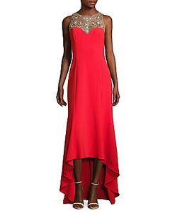 Marchesa Notte | Embellished Hi-Lo Gown