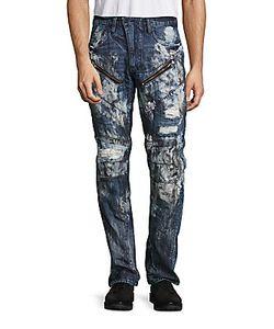 Prps | Apple Straight-Leg Distressed Jeans