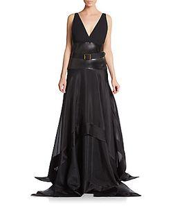 Donna Karan | Belted Gown
