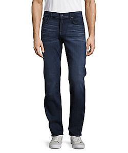 7 For All Mankind | Slimmy Clean Straight-Slim-Fit Five-Pocket Jeans