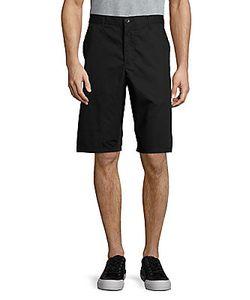 John Varvatos | Solid Cotton Shorts