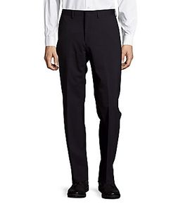 Michael Kors | Wool-Blend Straight-Leg Dress Pants