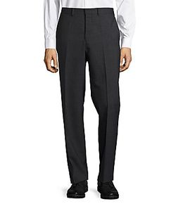 Michael Kors | Flat-Front Wool Dress Pants