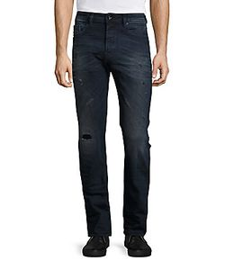 Diesel | Distressed Cotton Jeans