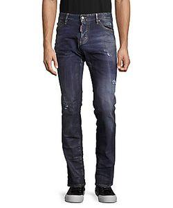 Brunello Cucinelli   Slim-Fit Distressed Pants