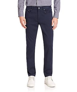 Michael Kors | Straight Leg Cotton Blend Pants