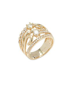 Effy | 14k Stacked Diamond Ring