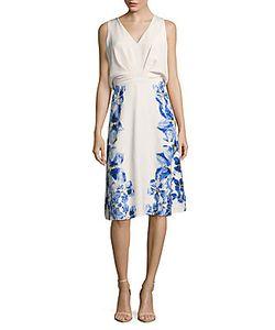 Max Mara   Sleeveless Print Dress