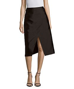 C/Meo | Solid A-Line Skirt
