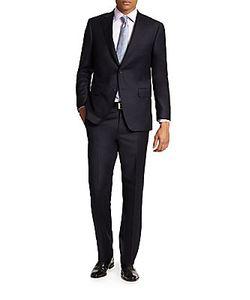 Saks Fifth Avenue | Samuelsohn Basic Wool Suit