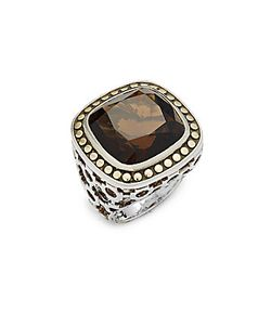 John Hardy | 18k Bonded Quartz Ring
