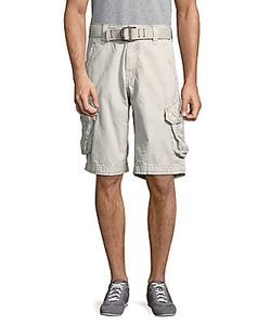Jetlag   Cotton Six-Pocket Shorts