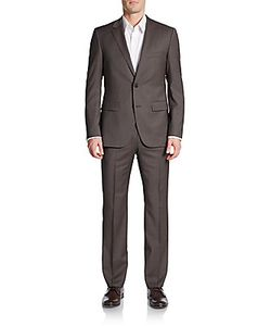 Boss Hugo Boss | Regular-Fit Houndstooth Virgin Wool Suit